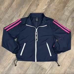 Justify Navy and Pink Nope Jacket Size M